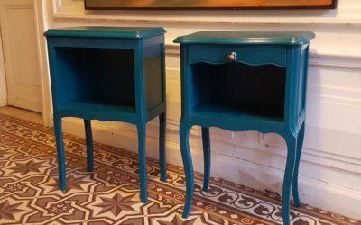 Petits meubles en hêtre